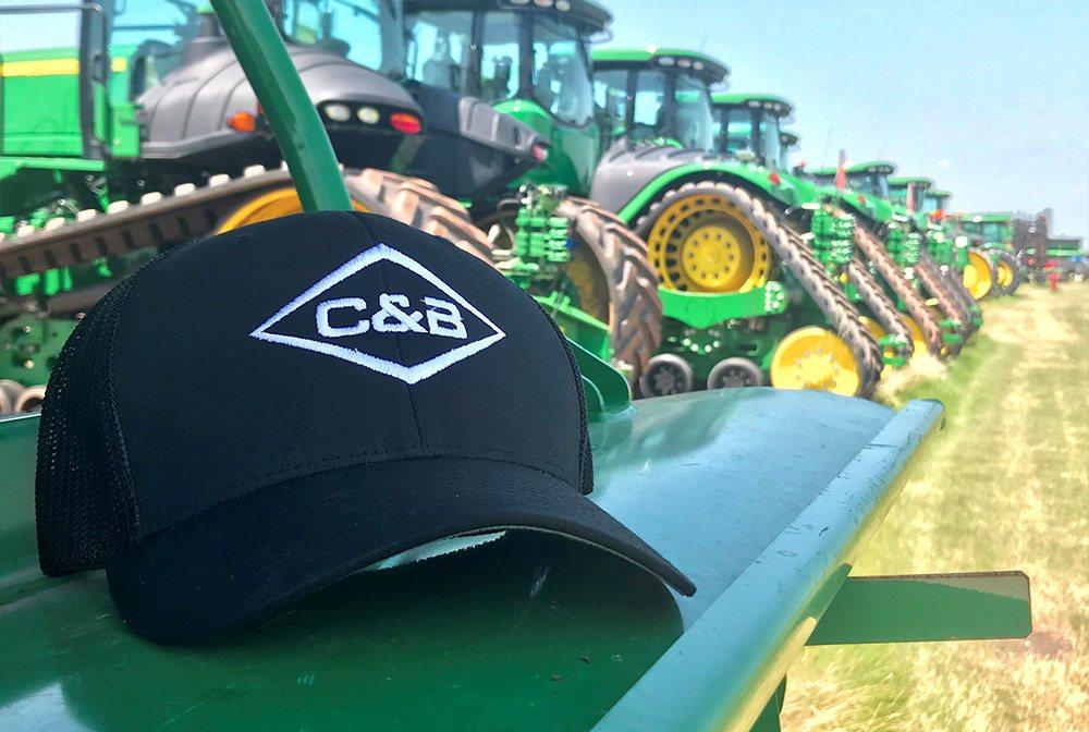 C & B Rebrand hat