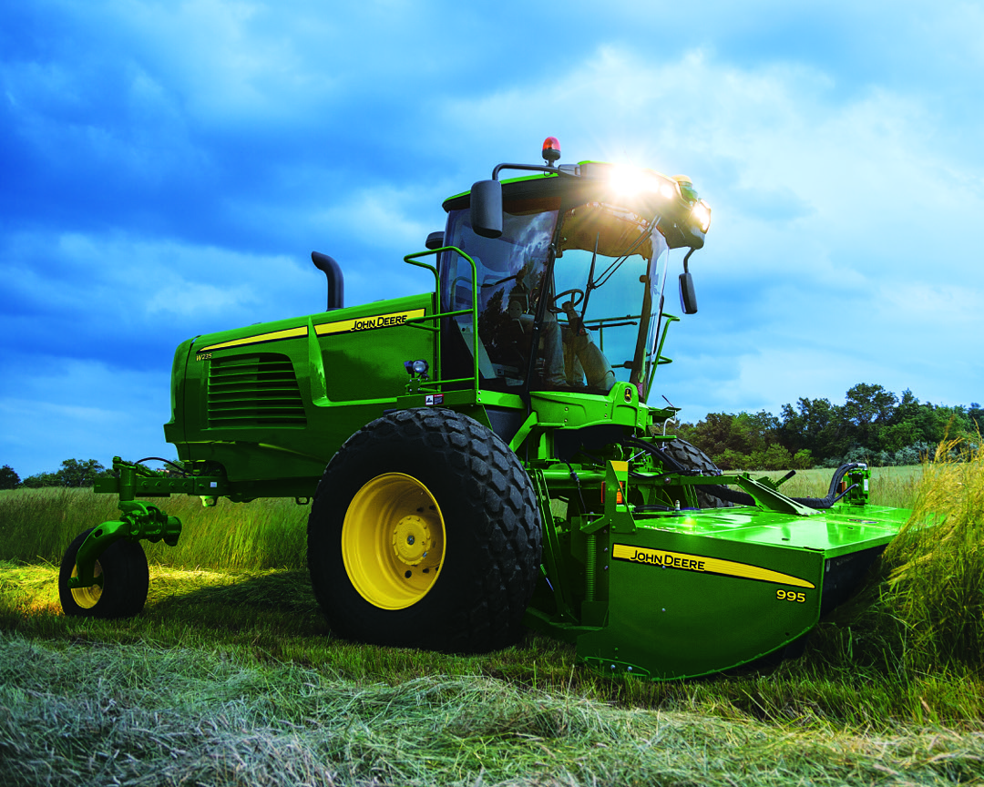 John Deere Windrower for sale at C&B Operations.