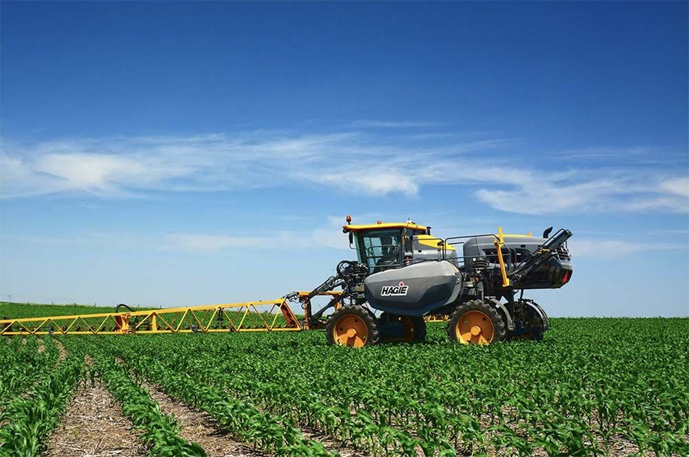 Hagie High-Clearance Sprayers