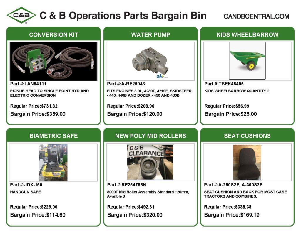 C & B BARGAIN BIN TEASER JULY 2020