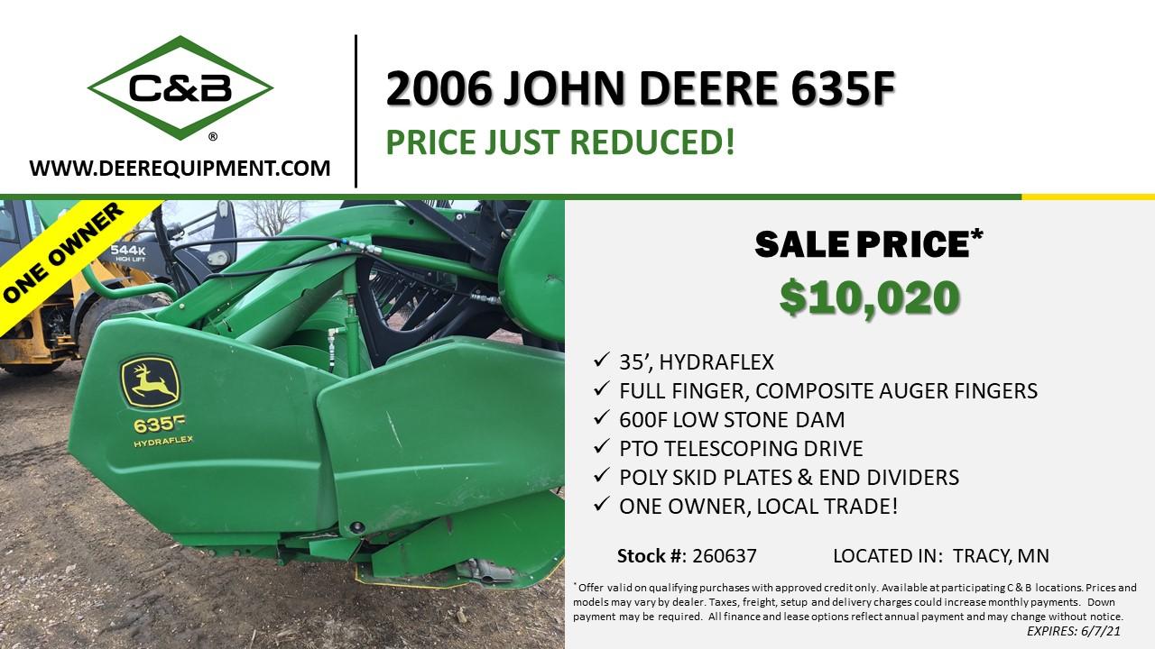 2006 JOHN DEERE 635F – 260637
